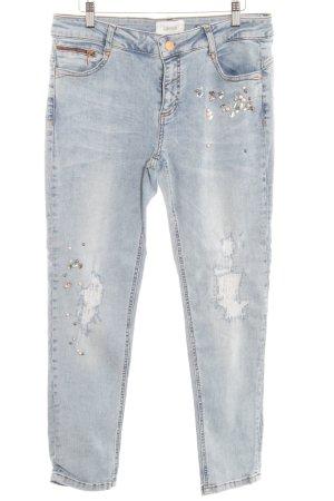 Cartoon Slim Jeans himmelblau Casual-Look