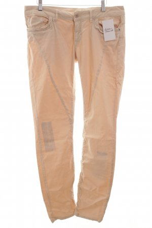 Cartoon Straight-Leg Jeans hellbeige Casual-Look