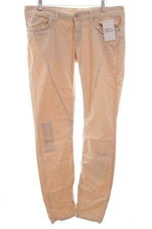 Cartoon Straight-Leg Jeans hellbeige Casual-Look