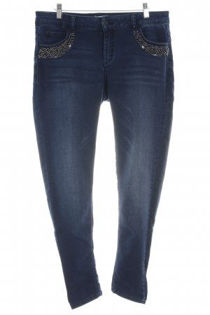 Cartoon Stretch Jeans blau Casual-Look