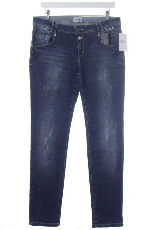 Cartoon Stretch Jeans dunkelblau Casual-Look