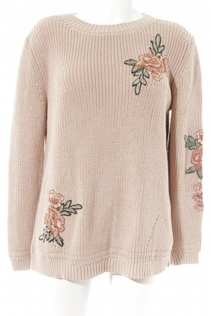 Cartoon Strickpullover altrosa Casual-Look