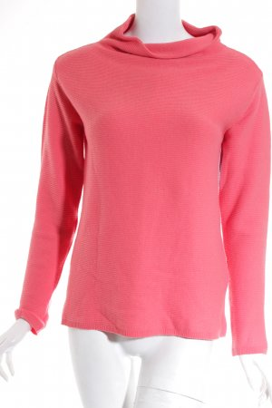 Cartoon Strickpullover lachs Casual-Look