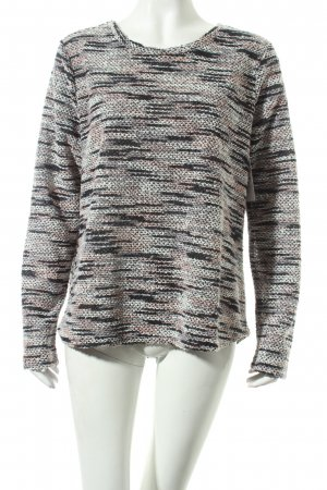 Cartoon Strickpullover mehrfarbig Casual-Look