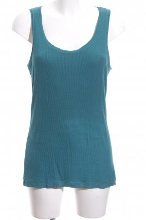 Cartoon Knitted Top blue casual look