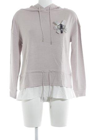 Cartoon Sweatshirt rosé Casual-Look