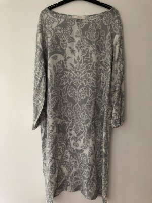 Cartoon Tunic Dress light grey-grey