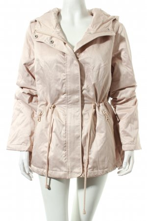 Cartoon Winterjacke altrosa Casual-Look
