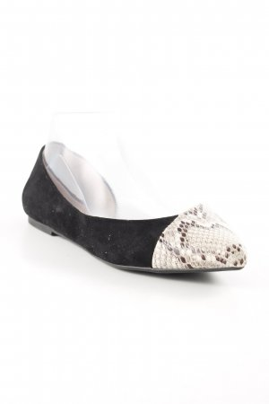 Carvela Ballerinas with Toecap black-oatmeal business style