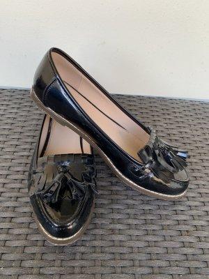 Kurt Geiger Patent Leather Ballerinas black