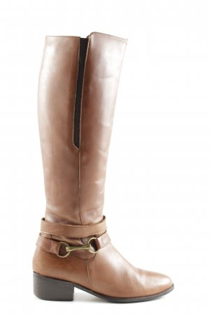 Carvela Wide Calf Boots light orange business style