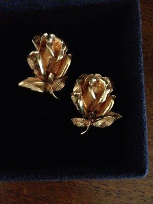 Carven Bijoux Vintage Clip Ohrringe