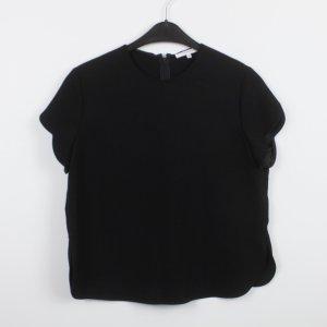Carven Blouse à manches courtes noir polyester