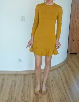 Carven Dress Gold/ yellow