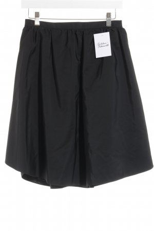 Carven Faltenrock schwarz klassischer Stil