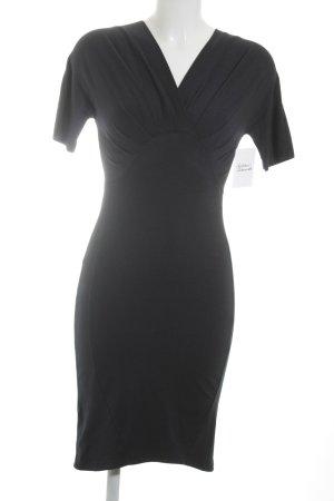 Carven Jerseykleid dunkelblau klassischer Stil