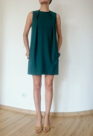 Carven Mini Kleid petrol