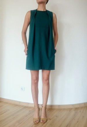 Carven Mini Kleid petrol
