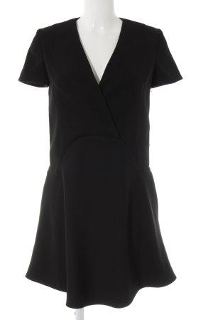 Carven Minikleid schwarz Elegant