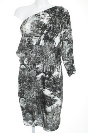 Carven One-Shoulder-Kleid florales Muster Elegant