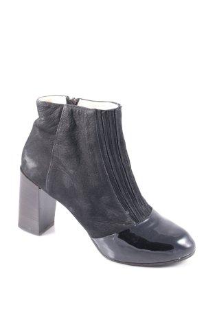 Carven Reißverschluss-Stiefeletten schwarz Street-Fashion-Look