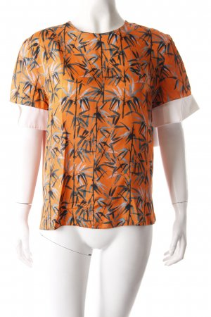 Carven Schlupf-Bluse orange