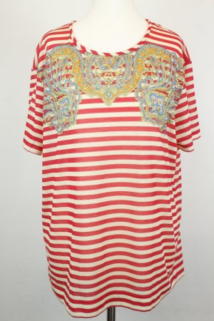Carven T-shirt rayé multicolore polyester