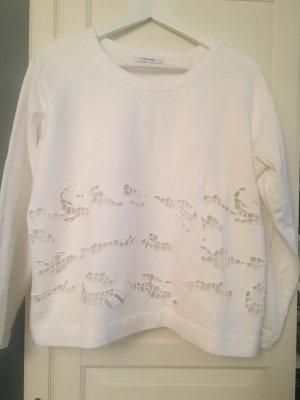 Carven Sweatshirt Weiss L