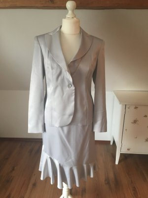 Cary Allen By apart Business set outfit silber 42 40 L Blazer