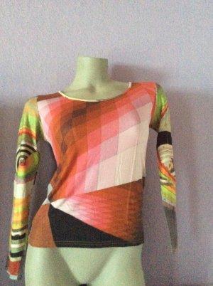 Carmen shirt lichtgroen Lycra