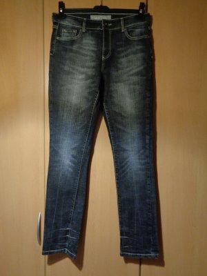 """CASABLANCA"" schwarze Damenjeans, Jeans, Gr. 40, Damenhose, Hose;"