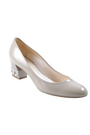 Casadei High Heels graugrün Elegant