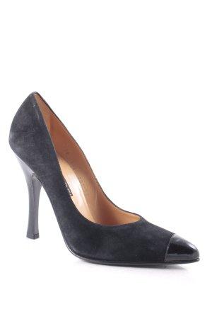 Casadei High Heels schwarz Business-Look