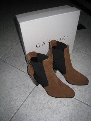 Casadei Slip-on Booties brown