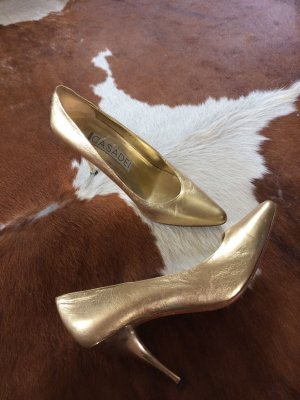 Casadei, neuwertige Pumps in Gold