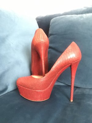 Casadei High Heels dark red-red