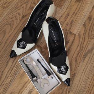 Casadei Schuhe Pumps Gr. 37 - Fussball - Absatz wechselbar
