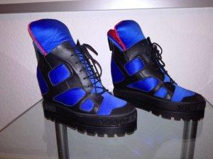 ''CASADEI'' Sneaker High Blau - Gr.37,5 - NEU - OVP - NP. 635,-€
