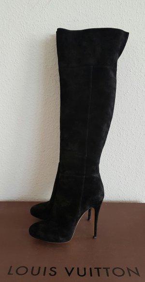 CASADEI Stiefel mit Umschlag Overknees