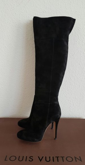 Casadei Kniehoge laarzen zwart