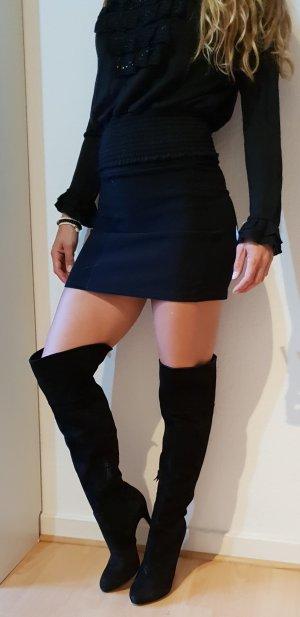 Casadei Stiefel Overknees suede over the knee