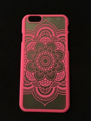 Case Hülle iPhone 6 / 6s neu matt pink