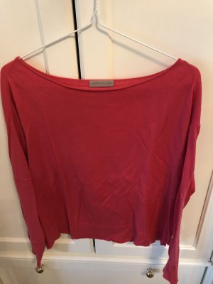 CASHFLOW Pullover in cashmere rosso lampone