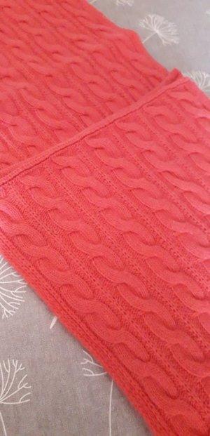 Benetton Sciarpa di lana arancione Cachemire