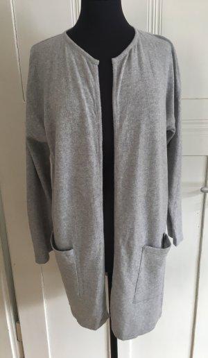 Cashmere Jumper light grey-grey cashmere