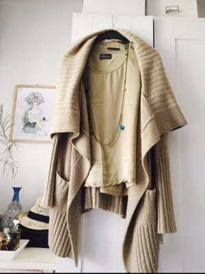 Airfield Cardigan camel