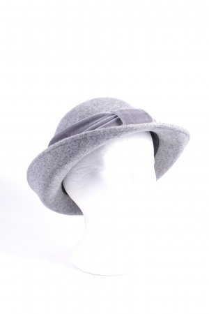 Cashmere Department Wollhut grau klassischer Stil