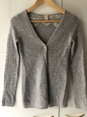 Dear Cashmere Knitted Cardigan multicolored