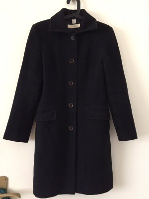 Aygill's Wool Coat black wool