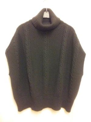 Fedeli Maglione oversize grigio scuro-antracite Cachemire
